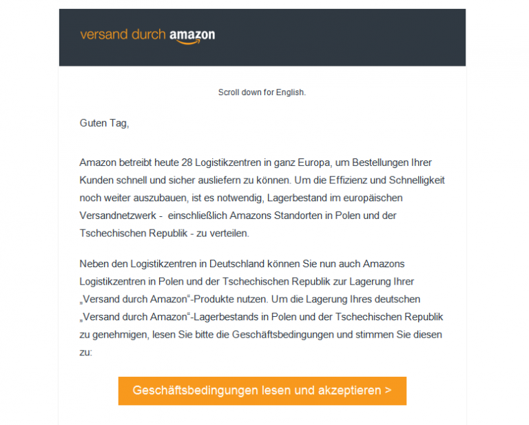 FBA Preiserhöhung Fulfillment by Amazon