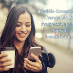 Mobile commerce 2017 Progressive Web Apps Instant Apps - ecomparo