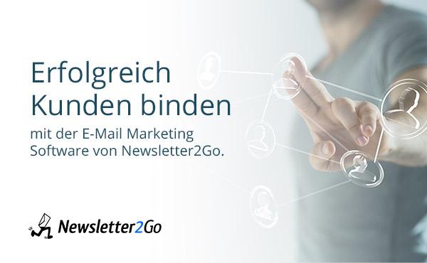 newsletter2go Emailmarketing ecomparo